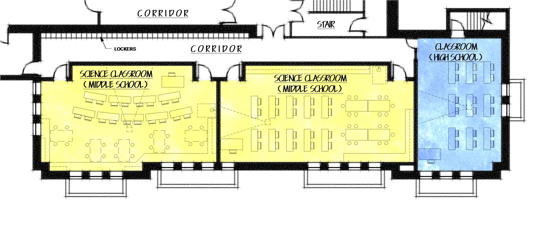 Middle School Science Floor Plan Ursuline Academy Celebrating